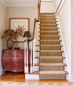 I wish our main staircase had carpet.  The steps are so loud being hardwood.