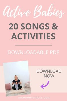 20 songs and activities for your active baby to help calm, soothe and relax your baby. The Mummy Circle