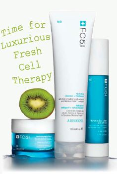 Arbonne's new vegan skin care line, FC5, uses fruit extracts and eco-friendly packaging.