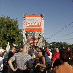 Sziget Festival started yesterday. Now it goes from a buzz to a roar!