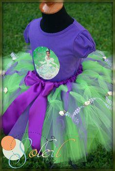 skirt  Princess and The Frog Tiana Tutu Outfit II