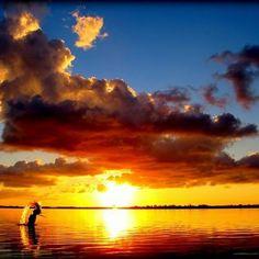 Breathtaking Florida Keys sunset.