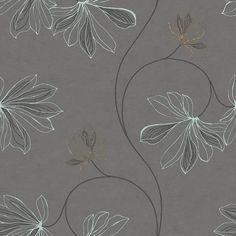Espri Charcoal wallpaper by Boråstapeter