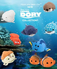 Finding Dory Tsum Tsums Available Today