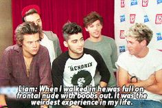 Aaaaand here we have Liam describing what sounds like an awfully confusing situation with Zayn oops Veronica. {GIF} -H