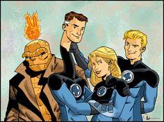 "fantastic four   Doc Shaner's ""Fantastic Four"""