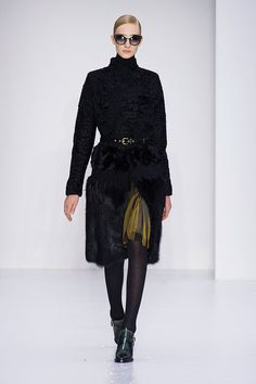 Ferragamo (Almost) Makes Us Want to Postpone Spring: Even at the tail end of Winter, when Spring is so tantalizingly close you could almost cry, there are certain Fall collections so good that we'd almost (almost) think about postponing the warm seasons a bit.