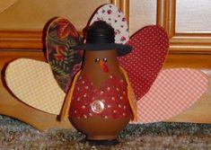turkey bulb funny thanksgiving craft
