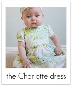 Charlotte dress tutorial part 1 making your pattern from Craftiness is not Optional Cute Baby Dresses, Little Girl Dresses, Sewing Kids Clothes, Sewing For Kids, Baby Dress Tutorials, Sewing Tutorials, Sewing Ideas, Charlotte Dress, Charlotte Baby