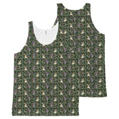 Ducks on camouflage All-Over-Print tank top - #customizable create your own personalize diy