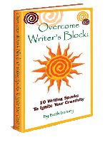 The fun and short ebook, Overcome Writer's Block: 12 Stages to Writing Your Book, for authors, and anyone wanting to get it written! Available on Amazon, B, Smashwords