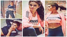 nice Selen Gomez launches new Adidas Neo assortment