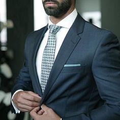 Love him in suit. www.ScarlettAvery.com