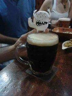 Una bañera de cerveza!