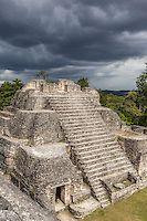 Carocol Mayan ruins, Belize.