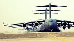 The Boeing Globemaster III is a large-sized military transport aircraft that was developed by the McDonnell Douglas in between years to to serve for the United State Air Force. Military Jets, Military Aircraft, Cargo Aircraft, Boeing Aircraft, Fighter Aircraft, Fighter Jets, Air Force Wallpaper, Hd Wallpaper, Desktop Wallpapers