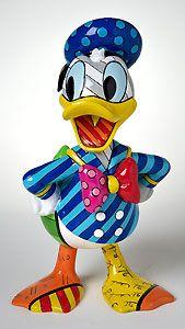 Donald Duck - Donald - Britto - Romero Britto - World-Wide-Art.com - $60.00 #Disney #Britto