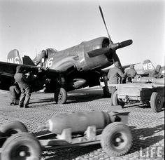 Marine Corsairs of VMF-323 & VMF-312, Korea, January 1952