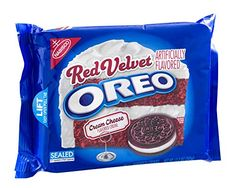 Nabisco Oreo Limited Edition Red Velvet Sandwich Cookies with Cream Cheese Creme 122oz Bag Pack of 3 ** More info could be found at the image url.
