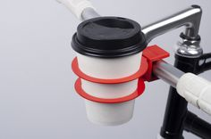 This clip-on cup holder ($33) | 21 Insanely Clever Products You Need For Your Bike
