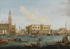 VENETIAN SCHOOL, 18TH CENTURY | Venice, a view of the Bacino di San Marco