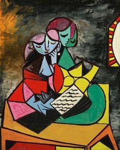 Deux personnages (La lecture) 1934 Pablo Picasso