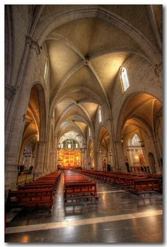 Sing alone in a great cathedral!