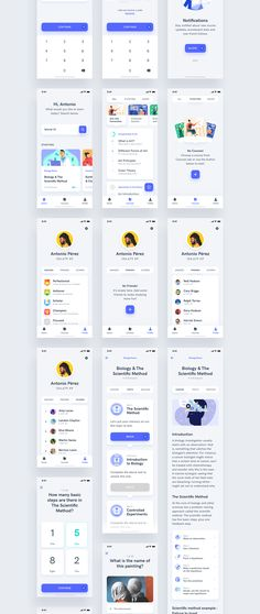 Mobile Application Design, Mobile Ui Design, App Ui Design, Web Design, Design Art, Flow App, Android Ui, App Design Inspiration, Learning Courses