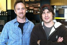 Travis Thrasher and Jimmy Wayne co-authors of Paper Angels
