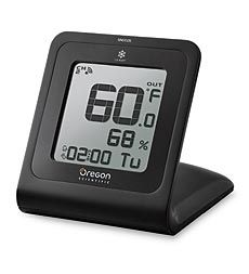 Snap Touch Screen Indoor/Outdoor Thermometer With Radio-Controlled Clock