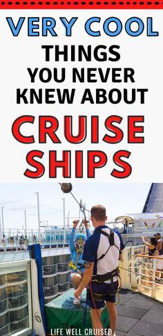 There are some interesting and cool and facts about cruise ships that might surprise you. Find out the 25 things you'll want to know about cruise ships and see how much you know. Cruise Packing Tips, Cruise Travel, Cruise Vacation, Disney Cruise, Cruise Ship Reviews, Best Cruise Ships, Cruise Excursions, Cruise Destinations, Family Friendly Cruises