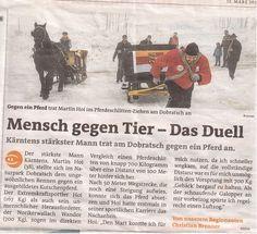 #dobratsch #pferde #kutsche #strongman