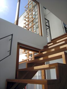 Wooden stairs, house and interior designed by ARHK/ residential homes design interior architecture
