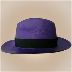 5a996155171 Panama Cuenca Hat - Fedora (Purple) for Men