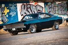 "musclecarblog: ""1968 Dodge Charger by AmericanMuscle """