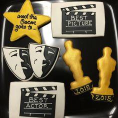 Academy Award cookies!