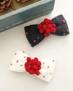Ribbon Hair Bows, Diy Hair Bows, Diy Ribbon, Tie Crafts, Felt Crafts, Boutique Hair Bows, Making Hair Bows, Christmas Bows, Felt Diy