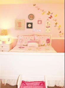 Girls room - butterflies