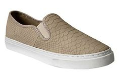 Rock these #snakeskin slip-ons for a casual hang out #shoes