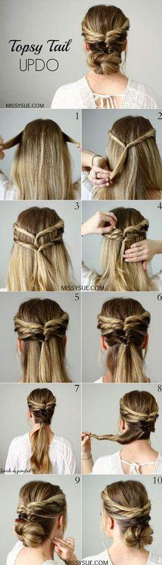 long hair ideas easy 5 minute hairstyles mornings long hair ideas easy 5 minute hairstyles mornings