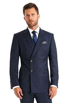 Moss 1851 Tailored Fit Blue Double Breasted Mix and Match Suit Jacket 42R Blue Moss 1851 http://www.amazon.co.uk/dp/B014V4FN5C/ref=cm_sw_r_pi_dp_t6aiwb1J6VQ0G