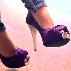 gorgeous [purple heels]