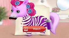 😸 Pony Sisters Hair Salon Pet Horse Makeover Fun Gameplay Android iOS 🐶 Meet the five Pony Sisters in the best pony hair salon and play the…