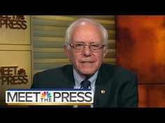 Bernie Sanders On Trump, ISIS, Economic Inequality | Meet The Press | NBC News - YouTube