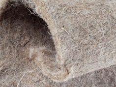 Hemp fiber nonwoven mats