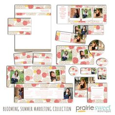 Blooming Summer  Photography Marketing by PrairieSweetBoutique, $54.00