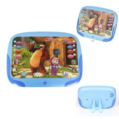 3D Masza i Niedźwiedź Elektroniczne Zabawki dla Dzieci Wczesne Edukacyjne Interaktywne Pet Nagrywania Zabawki Dla Dzieci