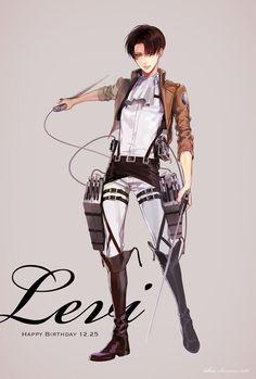 Levi by Idea Mikasa, Armin, Levi X Eren, Attack On Titan Fanart, Attack On Titan Anime, Ereri, Anime Guys, Manga Anime, Kuroko