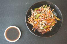 salada de aspargos e broto de feijão com molho de gergelim | Francinha Cooks