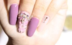 HOW TO: Spring Watercolor Nails ♥